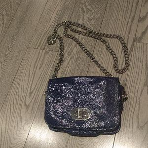 🌸🌺Dark blue croosbody bag by Badgley Mischka